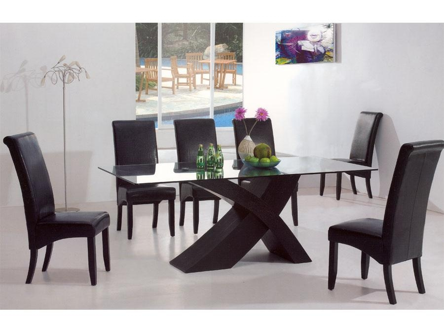 Modern Dining Room Table Set Throughout Contemporary Dining Tables Sets (Image 15 of 20)