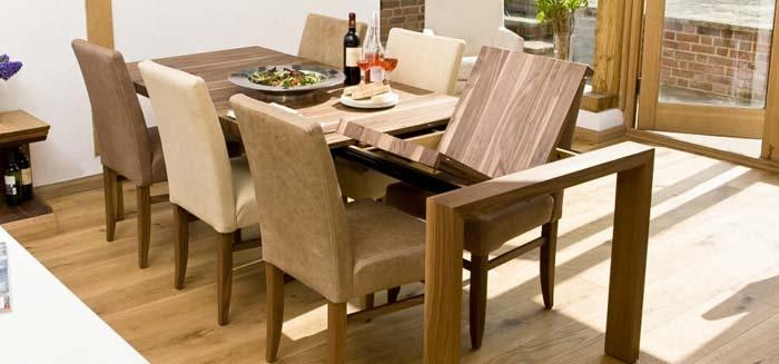 Modern Extendable Dining Table — Liberty Interior : Extendable In Contemporary Extending Dining Tables (Image 14 of 20)