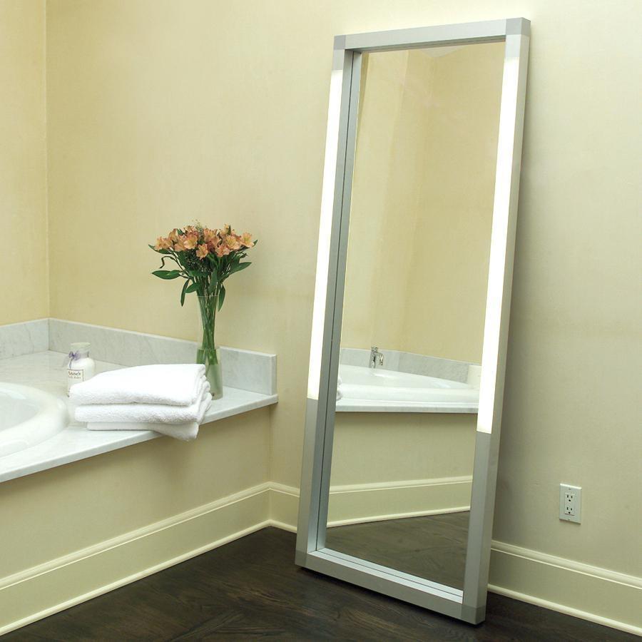 Modern Free Standing Mirror Vanity – Shopwiz Inside Modern Free Standing Mirror (Image 15 of 20)