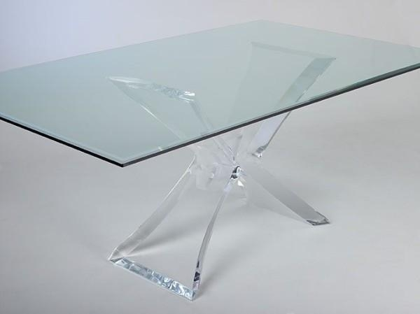 Modern Ideas Clear Dining Table Exclusive Idea Clear Plastic Throughout Clear Plastic Dining Tables (Image 14 of 20)