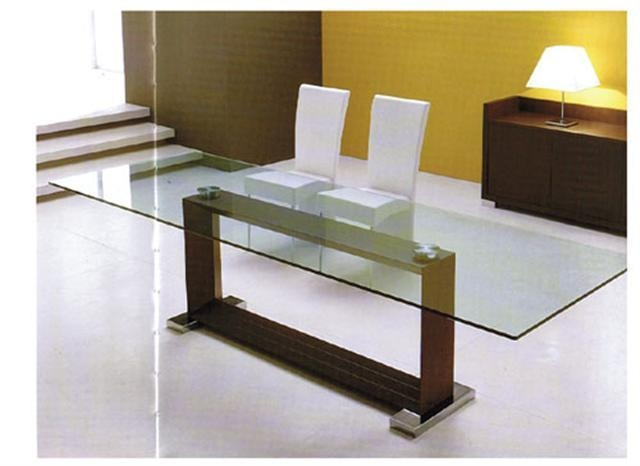 Modern Italian Dining Table For Monaco Dining Tables (Image 9 of 20)