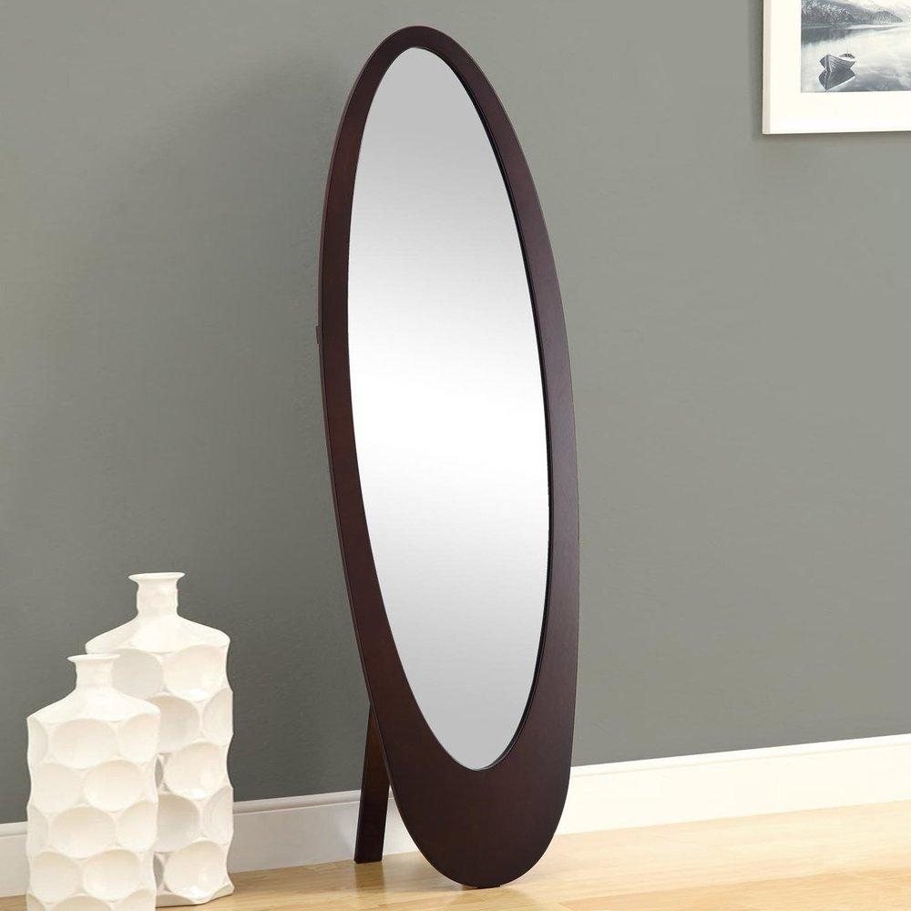Modern Living Room Mirror Stand – Buy Oval Shaped Mirror Stand Intended For Modern Cheval Mirror (View 6 of 20)