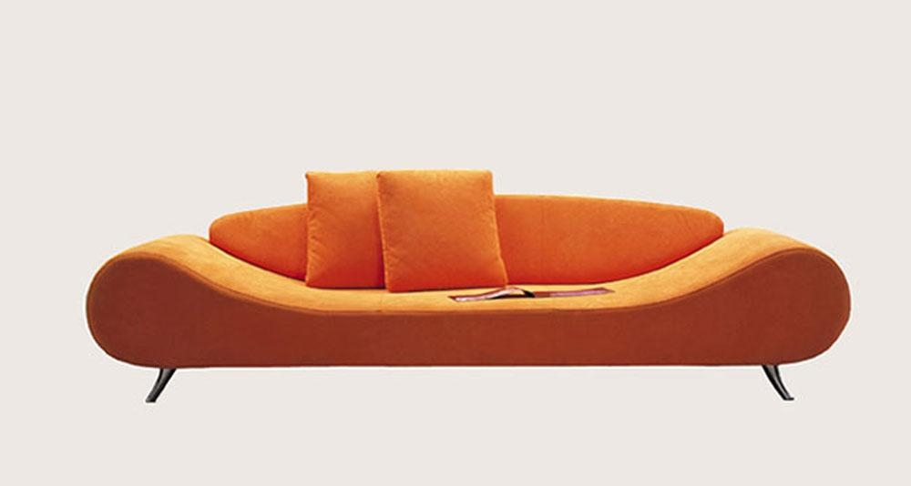 Modern Lounge Sofa – Home Design Ideas And Pictures Regarding Orange Modern Sofas (View 18 of 20)