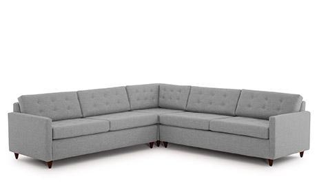 Modern & Mid Century Modern Sleeper Sofas | Joybird Regarding Corner Sleeper Sofas (View 20 of 20)