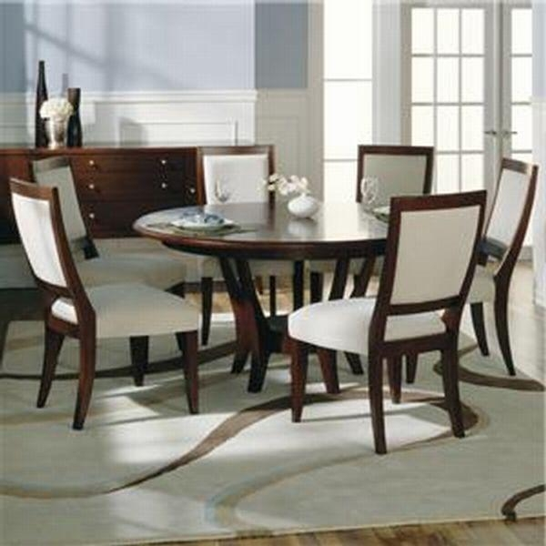 Modern Round Dining Table For 6 Throughout Round 6 Seater Dining Tables (Image 13 of 20)