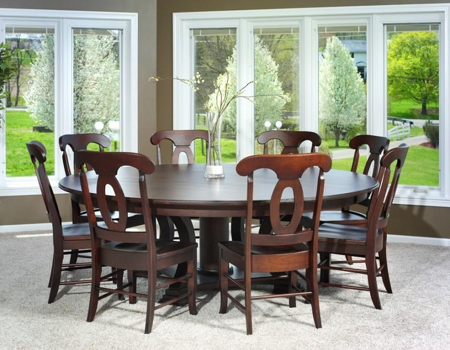 Modern Round Dining Table Set : Decorating Dining Room With Modern With Regard To Dining Tables Set For  (Image 13 of 20)