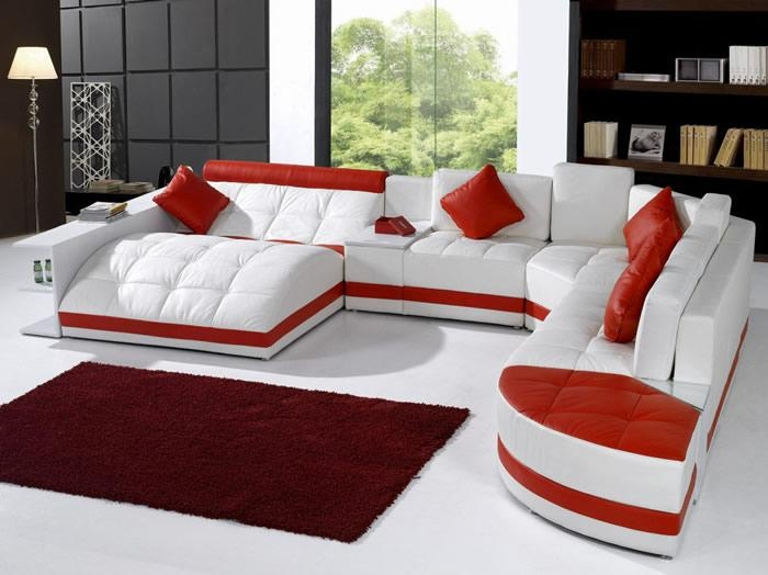 Modern Sectional Sofas With Leather Modern Sectional Sofas (View 8 of 20)