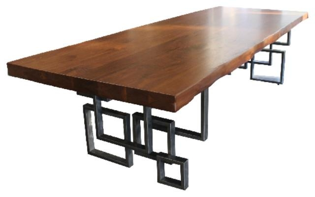 Modern Walnut Dining Table – Dining Tables  Stix And Stone With Walnut Dining Tables (Image 13 of 20)