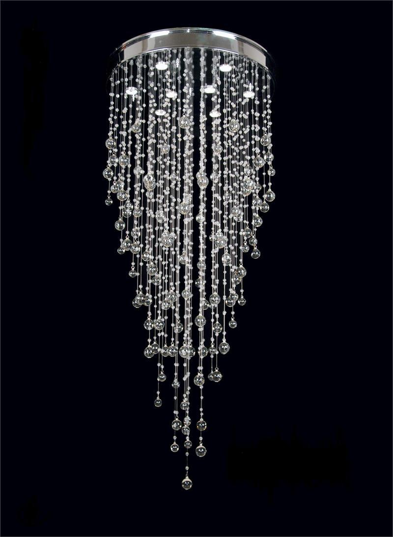 Moderncrystalchandeliers Light Modern Crystal Chandeliers D30 For Faux Crystal Chandeliers (View 10 of 25)