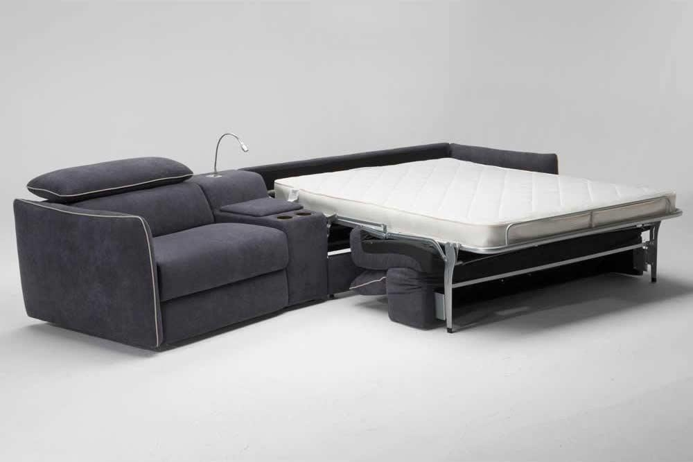 Modular Leather Sleeper Sofanatuzzi B995 | Natuzzi Sofabeds Intended For Natuzzi Sleeper Sofas (View 8 of 20)