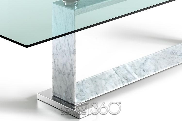 Monaco Modern Italian Dining Tablecattelan Italia Pertaining To Monaco Dining Tables (View 13 of 20)
