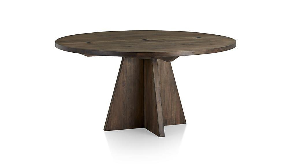 "Monarch Shiitake 60"" Round Dining Table 
