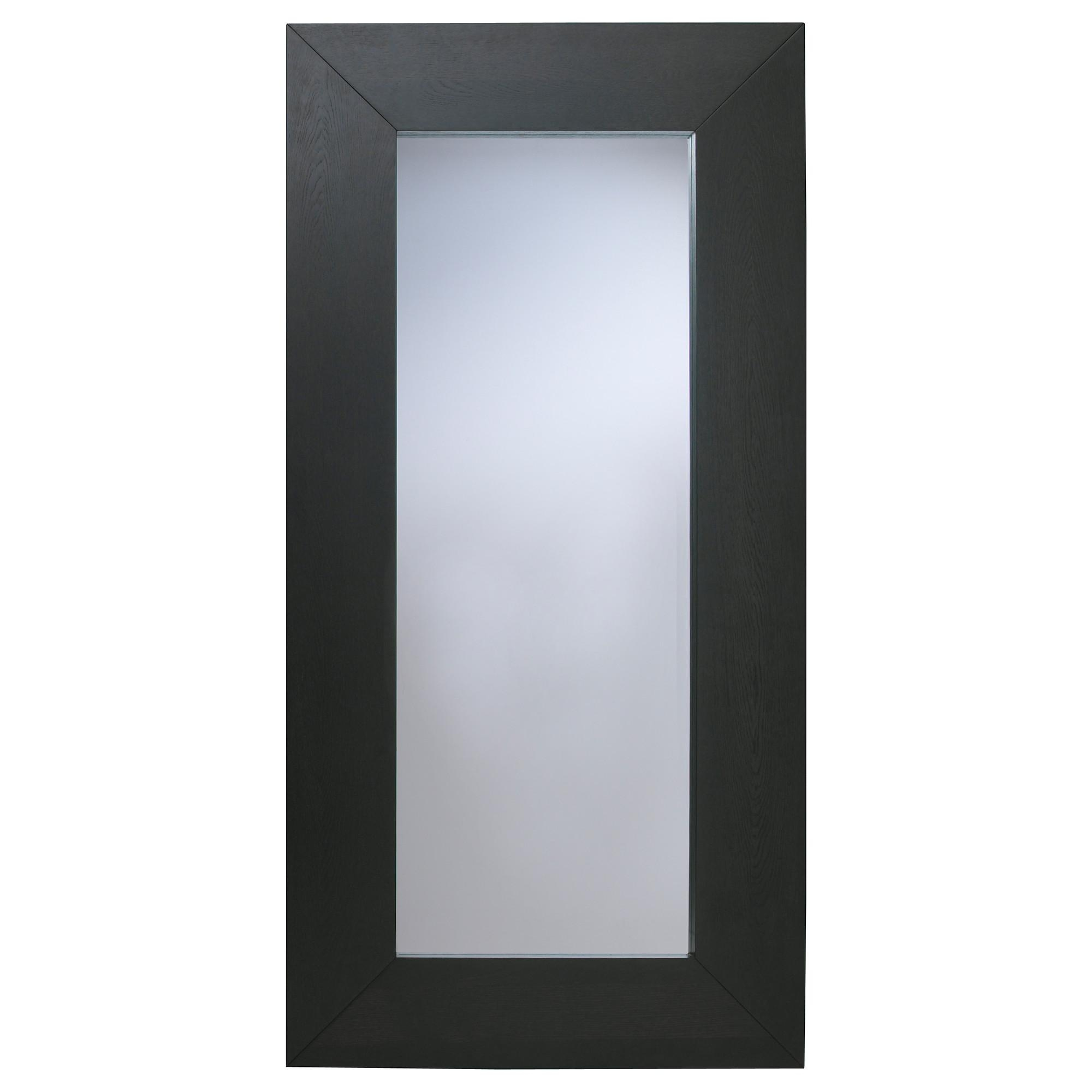 Mongstad Mirror Black Brown 94X190 Cm – Ikea With Long Dressing Mirror (View 12 of 20)