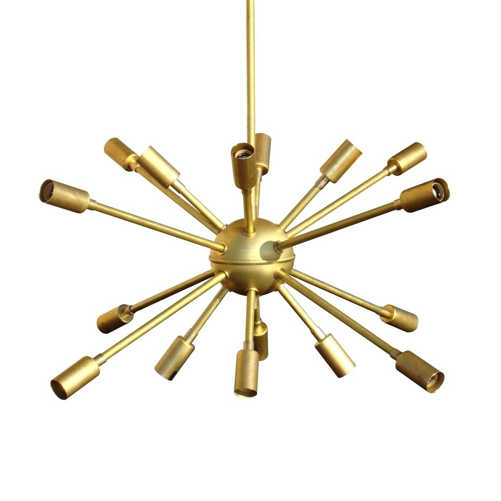 Moroccan Chandelier Lighting Jonathan Adler 24 Light Sputnik Within Mini Sputnik Chandeliers (Image 19 of 25)