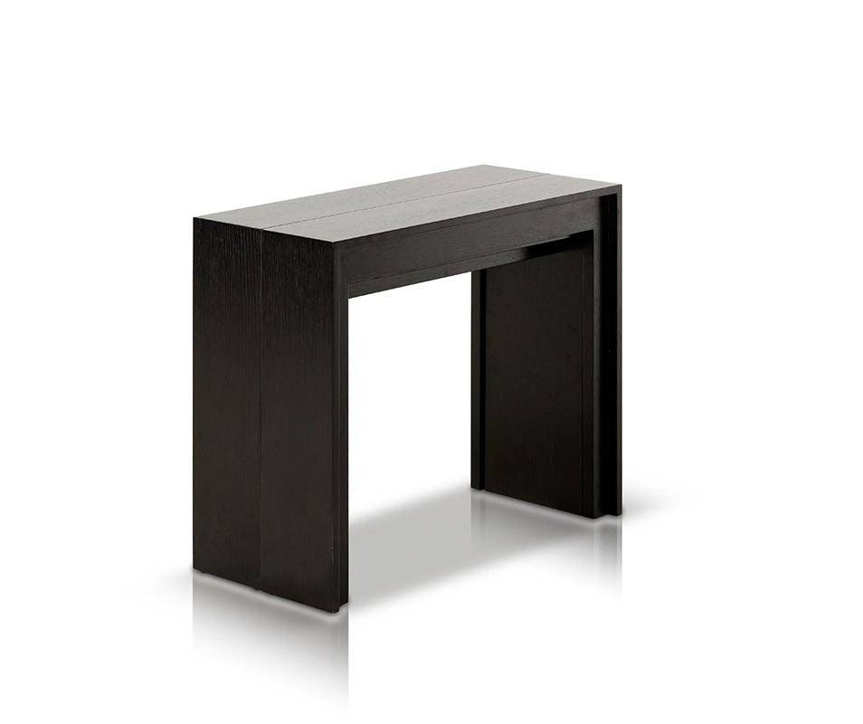 Morph Modern Ultra Compact Extendable Black Dining Table With Compact Dining Tables (Image 17 of 20)