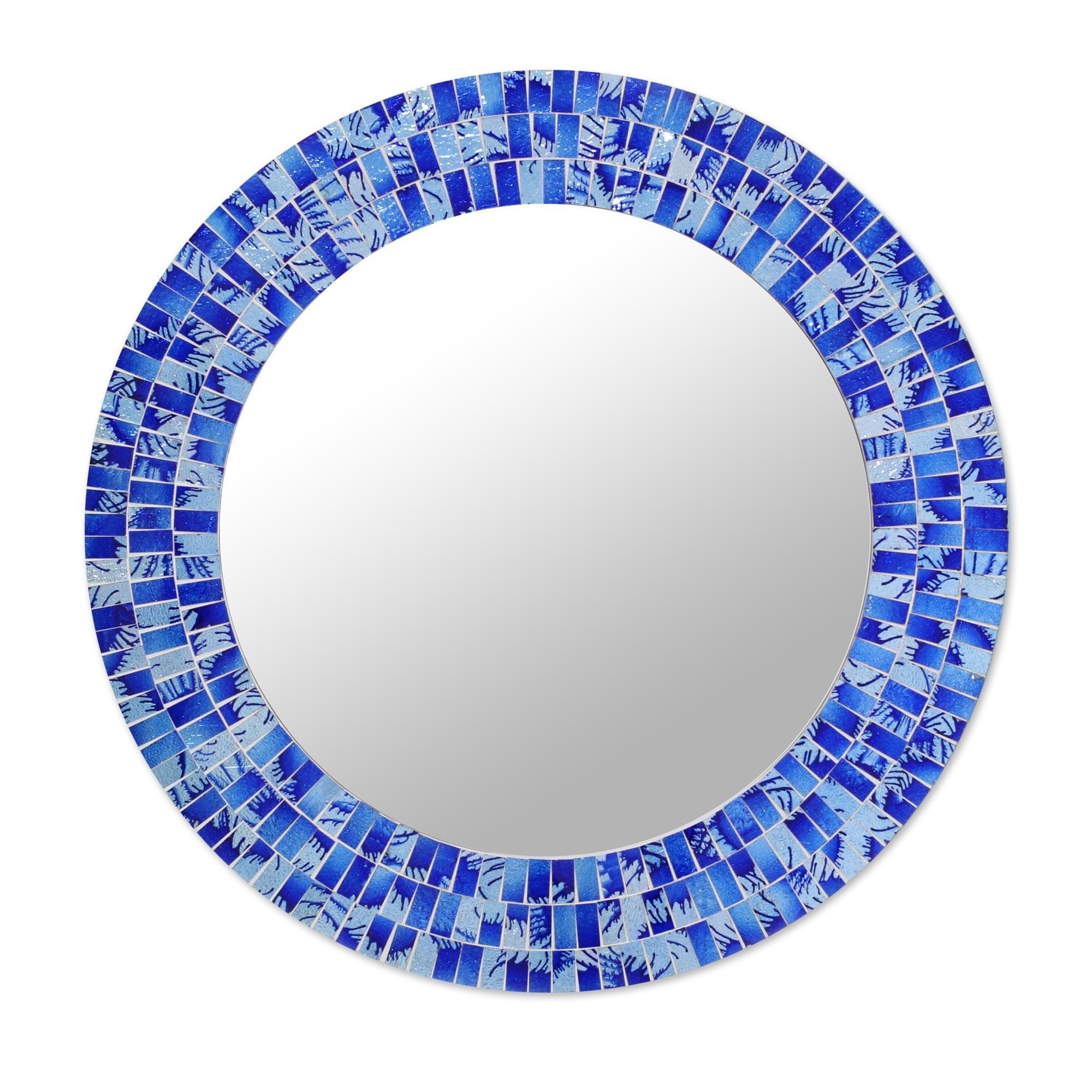 Mosaic Mirrors – Mosaic Mirror Collection At Novica Within Round Mosaic Mirrors (Image 12 of 20)