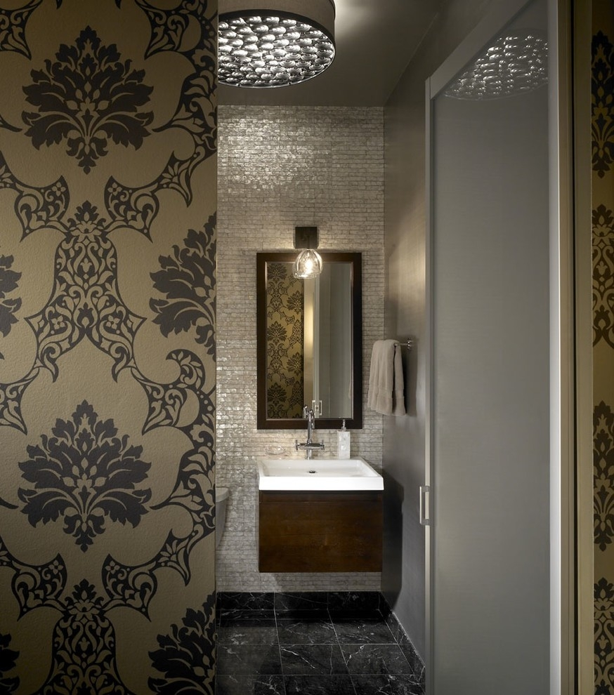 Mother Of Pearl Chandelier Bathroom Industrial With Bathroom With Chandelier Bathroom Lighting (Image 19 of 25)