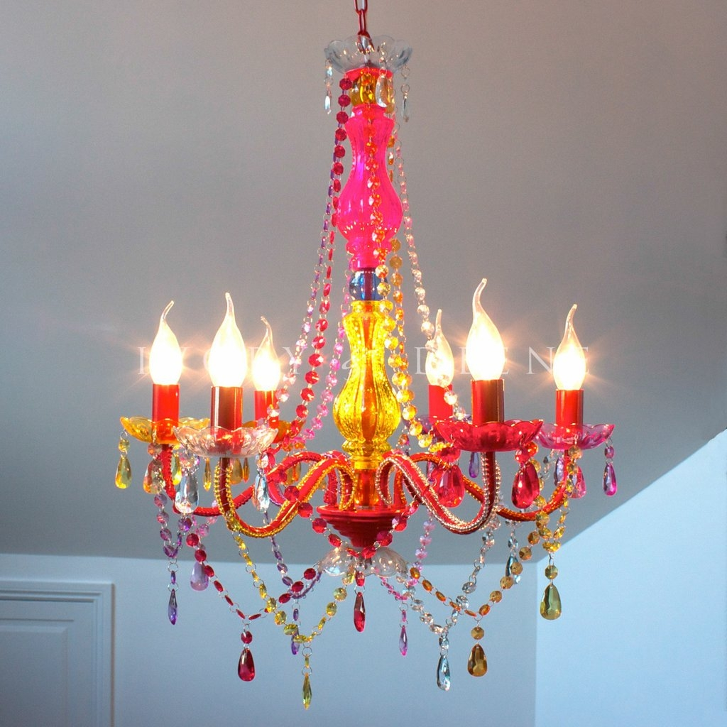 Multi Colored Gypsy Chandelier Decor 8 Pinterest Inside Colored In Gypsy Chandeliers (Image 21 of 25)