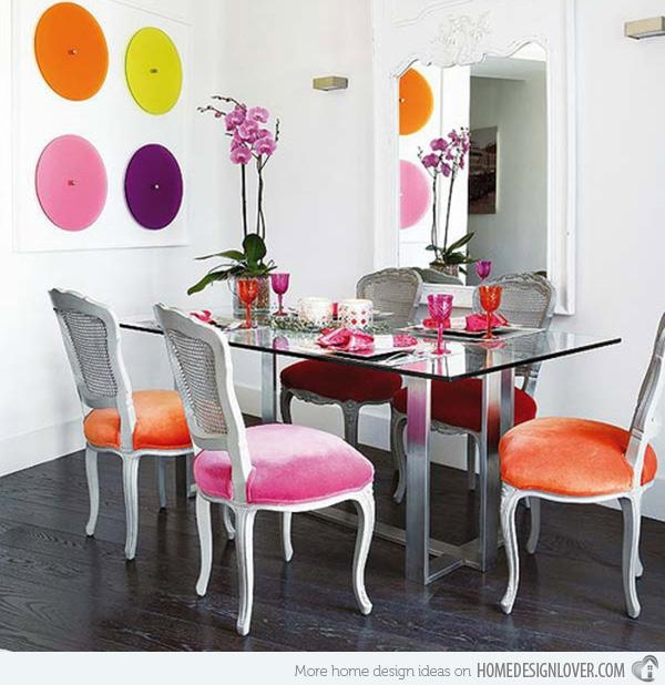 Multi Colored Kitchen Chairs | Winda 7 Furniture Regarding Colourful Dining Tables And Chairs (Image 15 of 20)