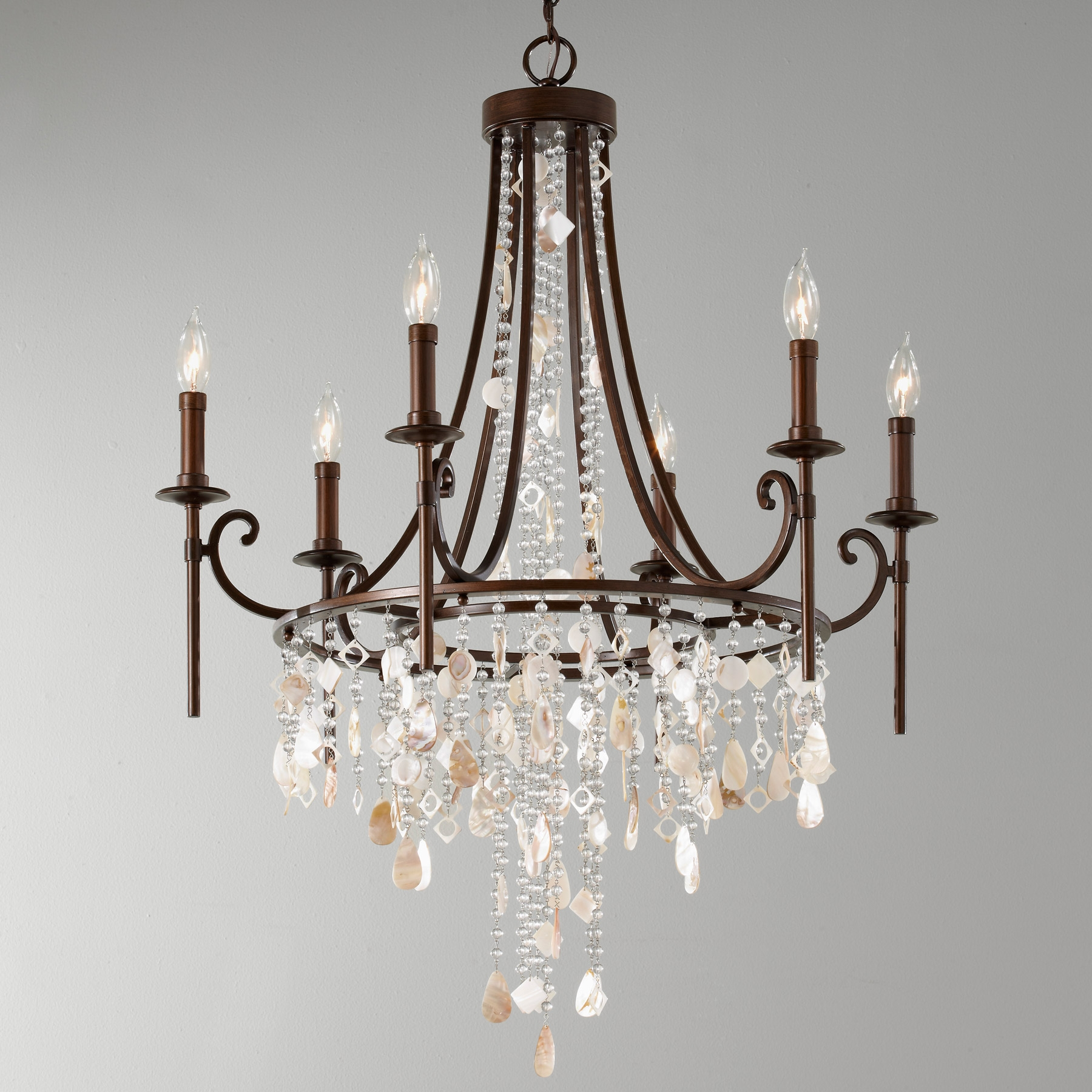 Murray Feiss Cascade Collection Lamps Beautiful Intended For Feiss Chandeliers (Image 15 of 25)