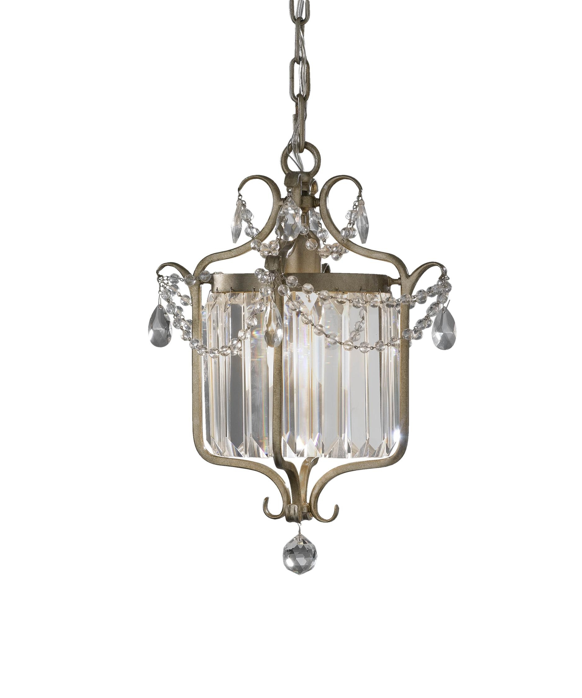 Murray Feiss F2473 1 Gianna 11 Inch Wide Foyer Pendant Capitol With Gianna Mini Chandeliers (Image 22 of 25)