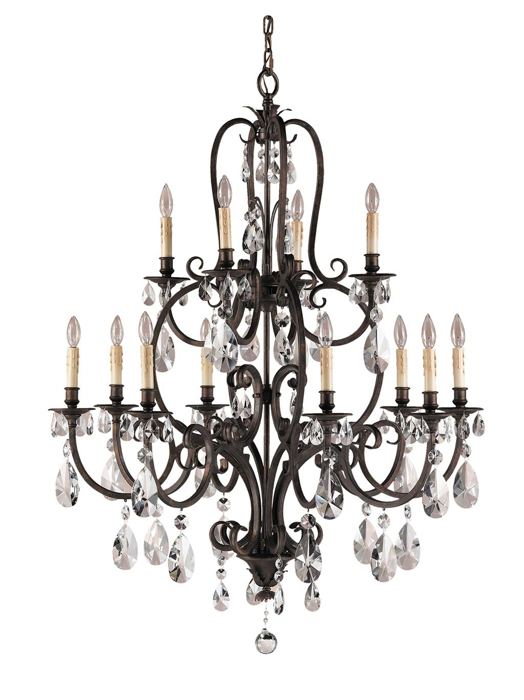 Murray Feiss Lighting F2229 Salon Maison Collection Chandelier Intended For Feiss Chandeliers (Image 25 of 25)