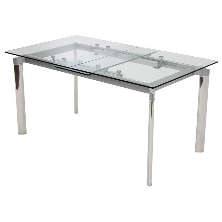 Naked Extendable Dining Table | El Dorado Furniture Inside White Square Extending Dining Tables (Image 14 of 20)