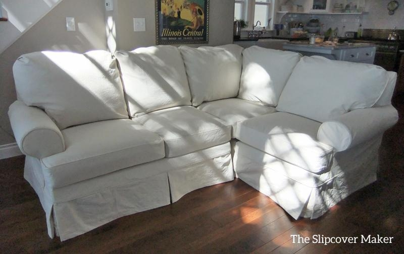 Natural Slipcovers | The Slipcover Maker | Page 2 Throughout Canvas Slipcover Sofas (Image 15 of 20)