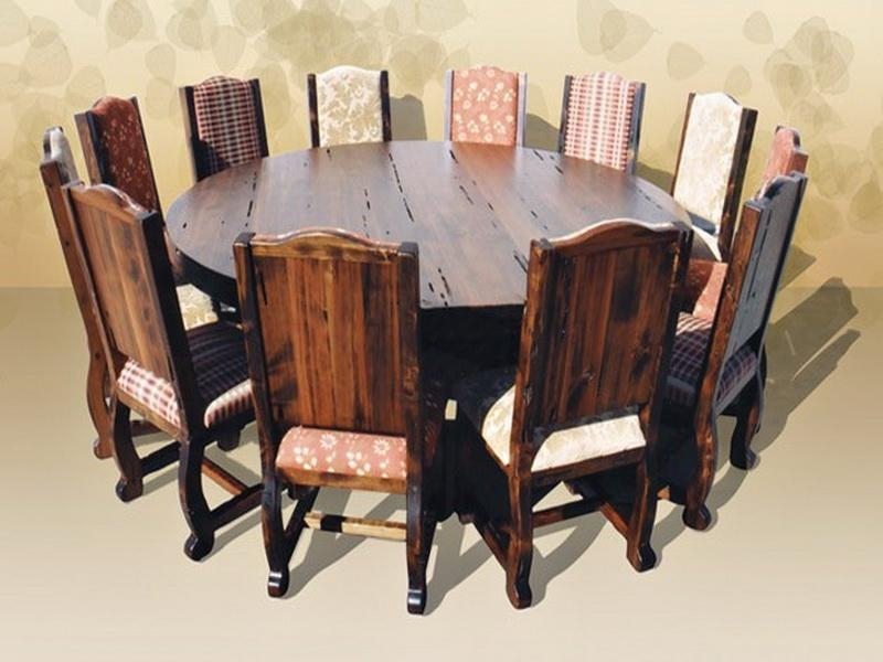 Natural Wood Dining Table  (Image 18 of 20)