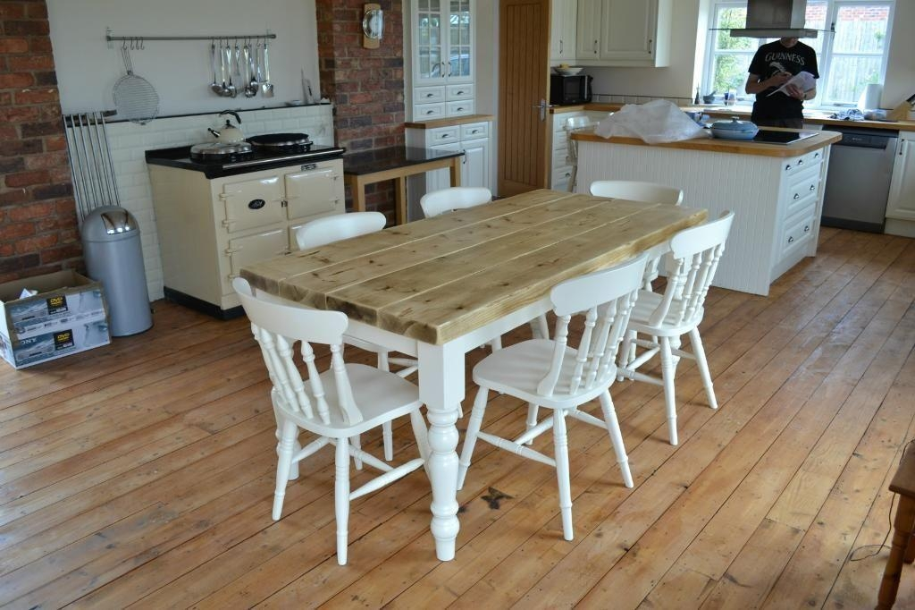Neat Design Shabby Chic Dining Table And Chairs | All Dining Room Within Shabby Dining Tables And Chairs (Image 19 of 20)