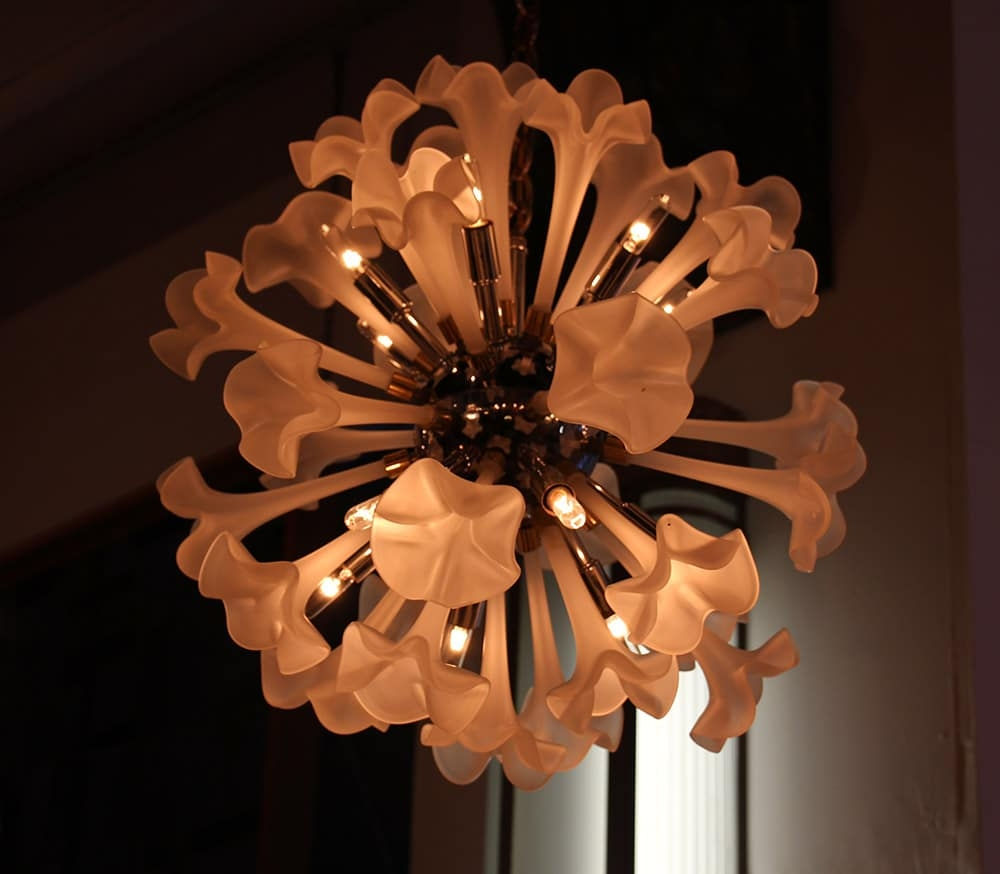 New Collection Of Mid Century Chandeliers Olde Good Things Throughout Lily Chandeliers (Image 22 of 25)