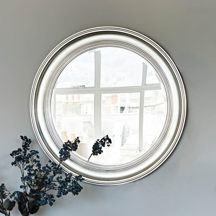 New England Mirror – Sliver Large | Brissi Throughout Round Bevelled Mirror (Image 5 of 20)