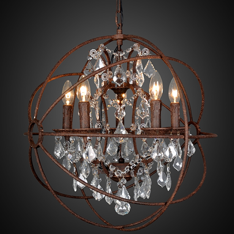 Featured Image of Small Rustic Crystal Chandeliers