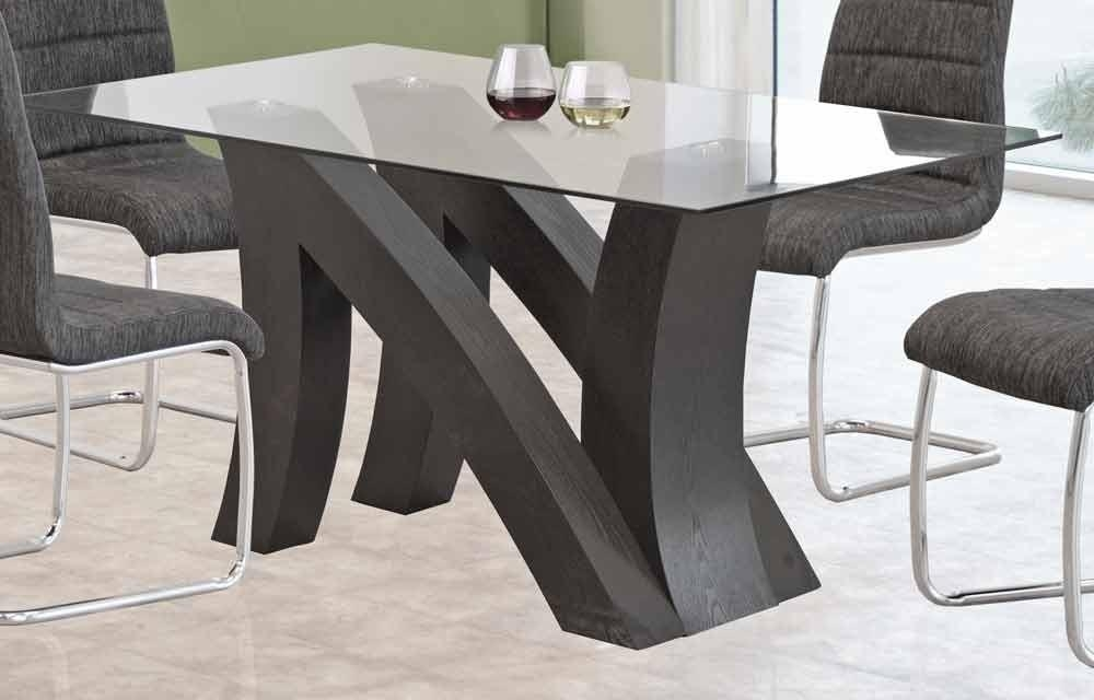 New York Modern Lacquer Dining Table Set Within New York Dining Tables (Image 16 of 20)