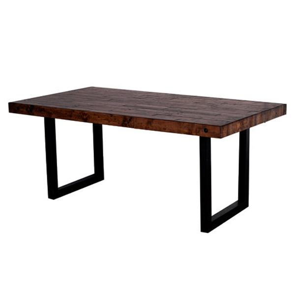 New York Reclaimed Pine Dining Table | Buy Wooden Tables Intended For Dining Tables New York (Image 19 of 20)