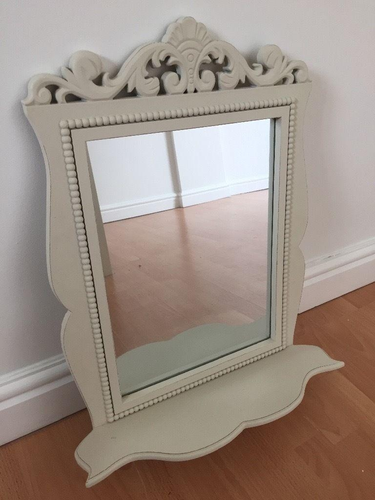 Next Cream Ornate Mirror With Shelf | In Upton, Cheshire | Gumtree Throughout Cream Ornate Mirror (Image 11 of 20)