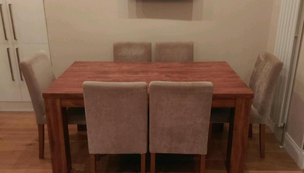 Next Havana Extending Dining Table And 6 Chairs (Pictures Do Not Within Havana Dining Tables (Image 15 of 20)