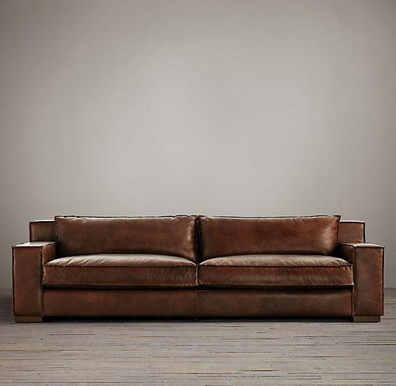 Nice Brompton Leather Sofa Capri Leather Sofa In Italian Brompton Within Brompton Leather Sofas (View 13 of 20)