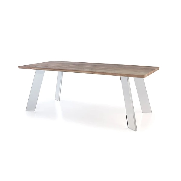 Noah Dining Table – Mikaza Meubles Modernes Montreal Modern Inside Noah Dining Tables (View 15 of 20)