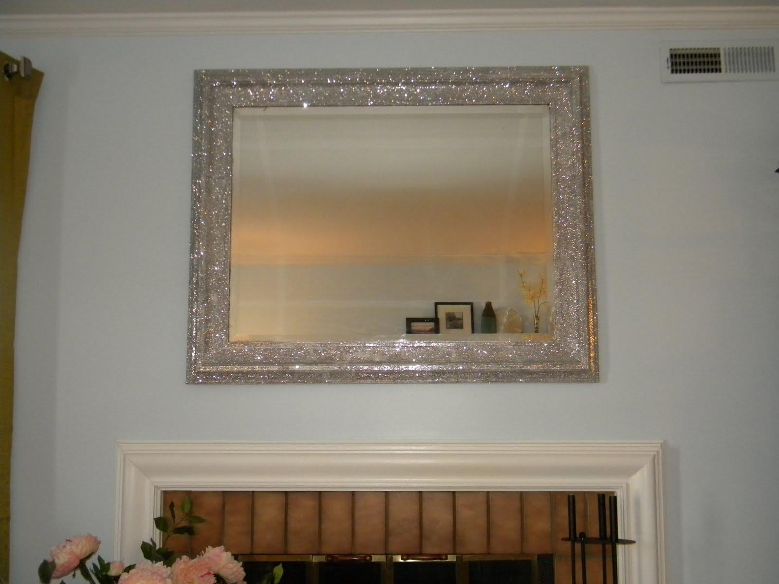 20 Collection Of Glitter Frame Mirror Mirror Ideas