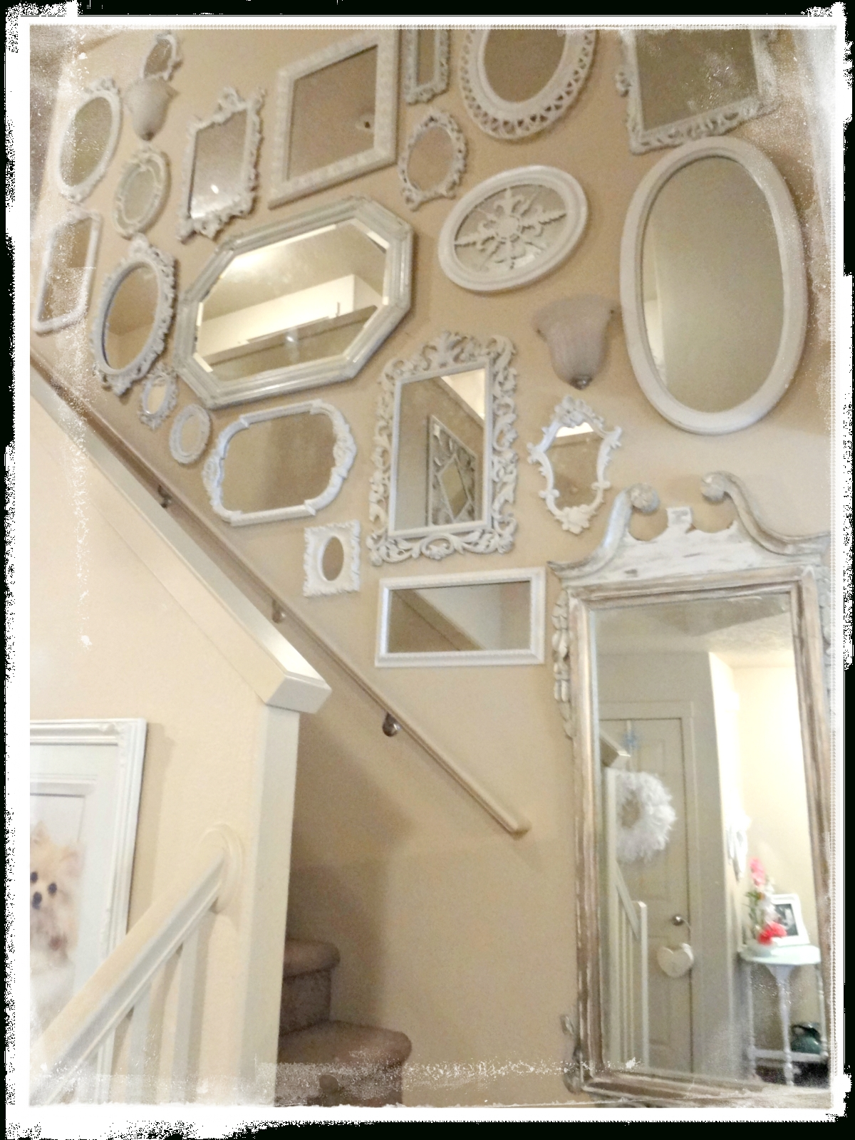 Not So Shabby – Shabby Chic: Mirrors, Flowers, & Fur Babies Throughout Shabby Chic Mirrors (Image 12 of 20)