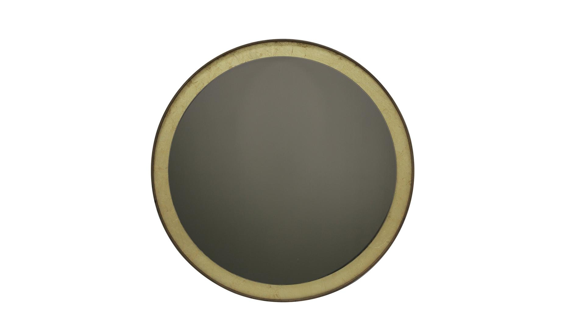Notre Monde Gold Leaf Bronze Wall Mirror | Dopo Domani In Bronze Wall Mirror (Image 9 of 20)