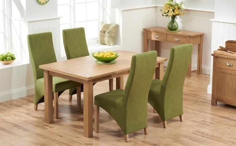 Oak Dining Room Table And Chairs With Regard To Oak Dining Tables And 4 Chairs (Photo 11 of 20)