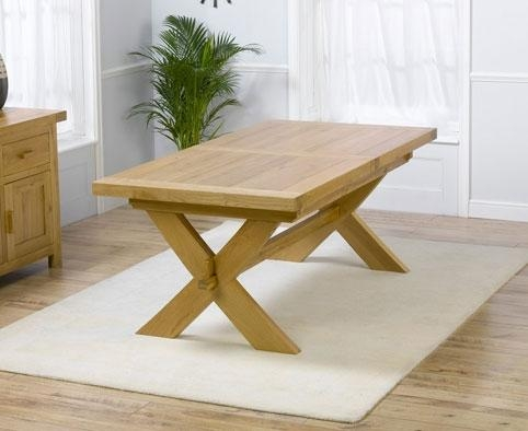 Oak Extending Dining Table And 8 Chairs #7531 Regarding Extending Solid Oak Dining Tables (Image 11 of 20)