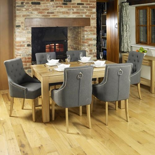 Oak Extending Oak Dining Table (Seats 4 8) | Hampshire Furniture Regarding 8 Seater Oak Dining Tables (View 10 of 20)