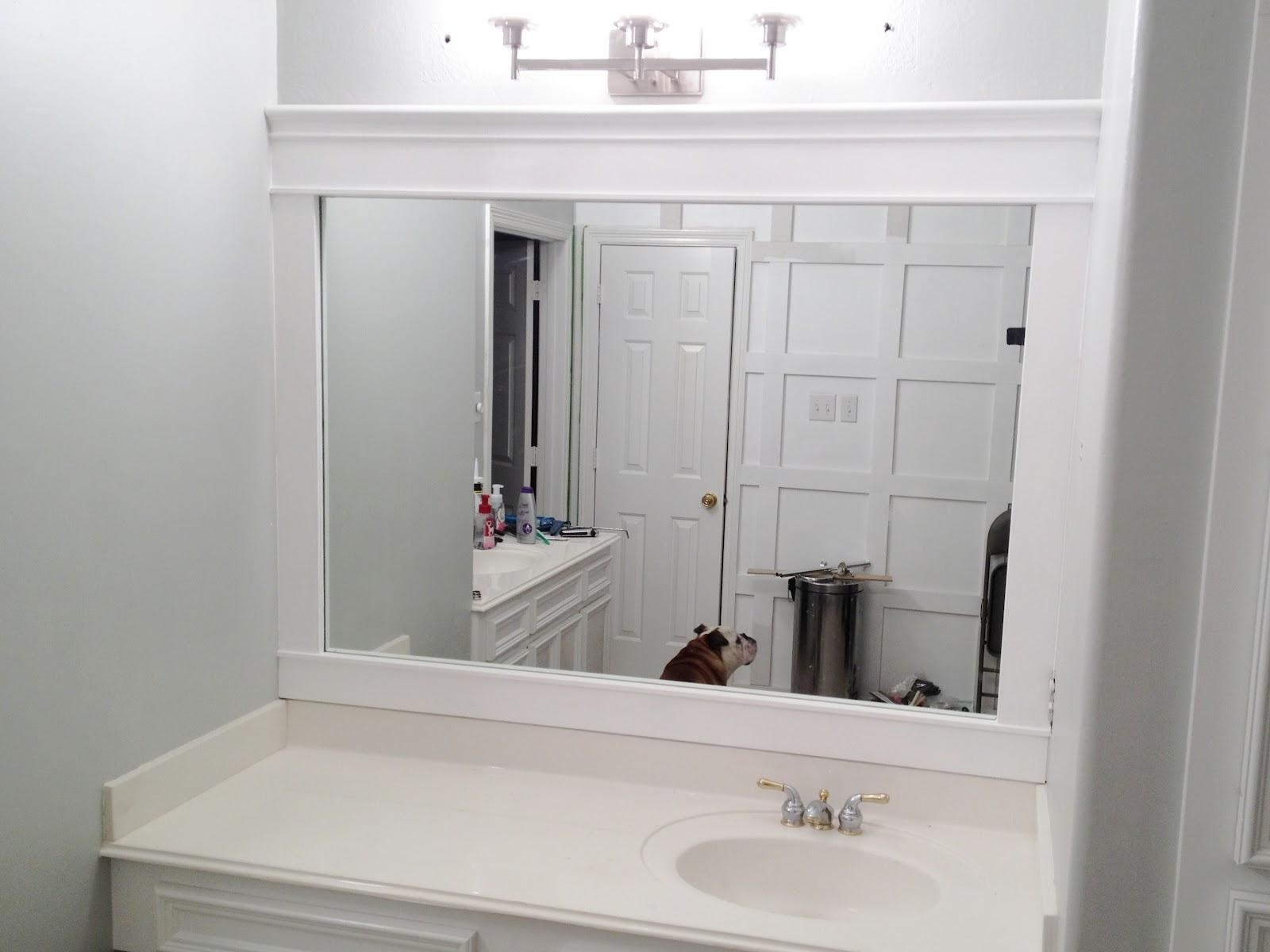 Oak Framed Bathroom Mirrors 118 Stunning Decor With Small Vanity Inside Oak Framed Wall Mirror (Image 4 of 20)