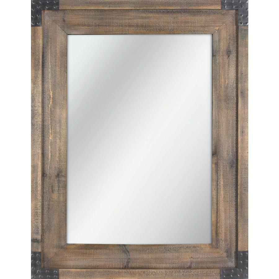 Oak Framed Mirror In Xl Sizeoak Ikea Mirrors For Sale – Shopwiz Inside Oak Framed Wall Mirror (Image 5 of 20)
