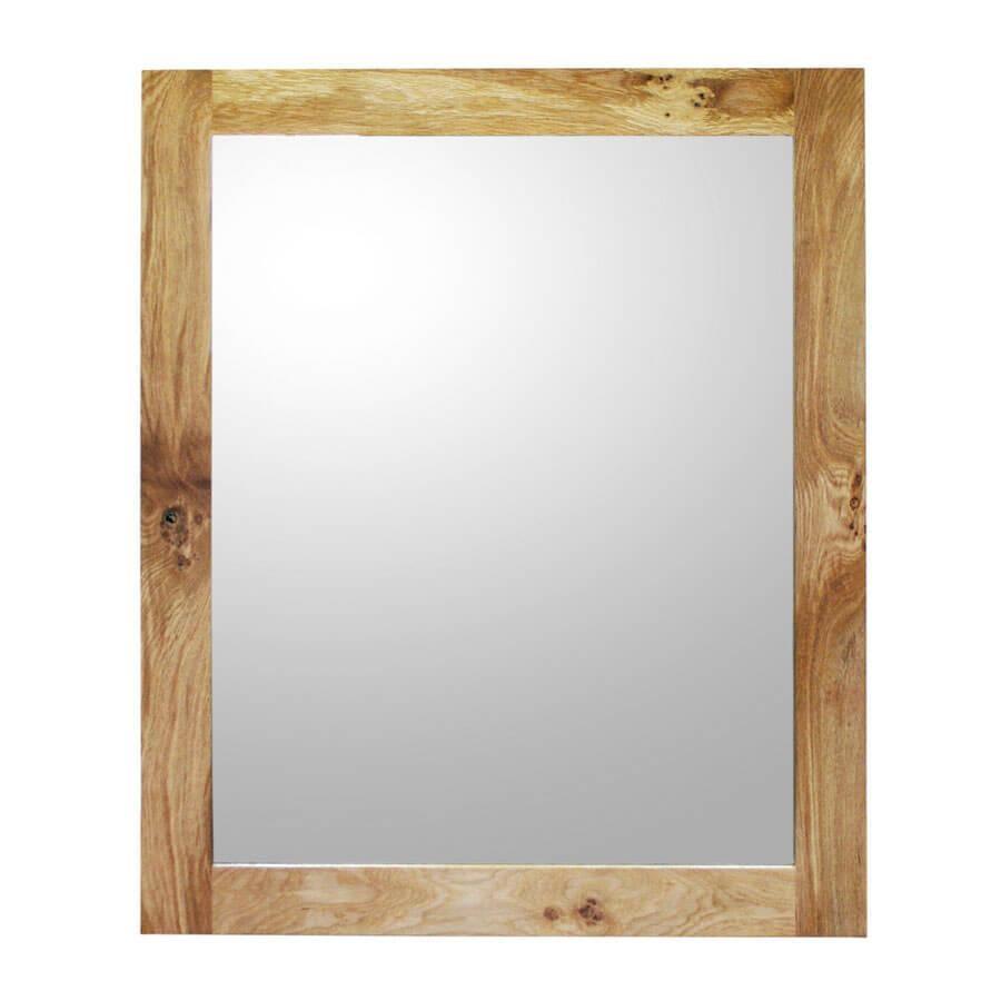 Oak Framed Mirror – Xl Regarding Large Oak Mirrors (Image 10 of 20)