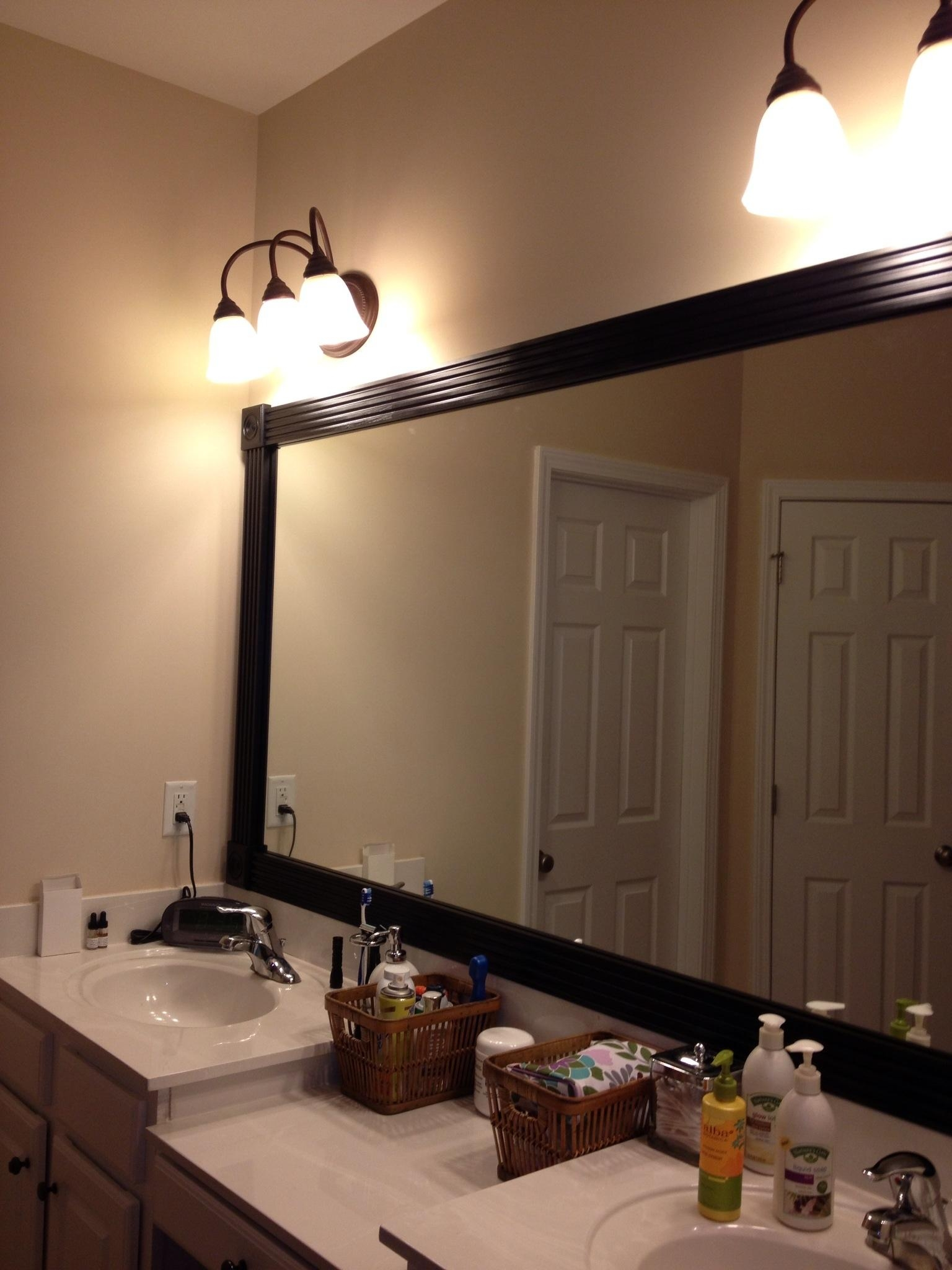 Oak Framed Wall Mirror 123 Beautiful Decoration Also This Oak Intended For Oak Framed Wall Mirror (Image 12 of 20)