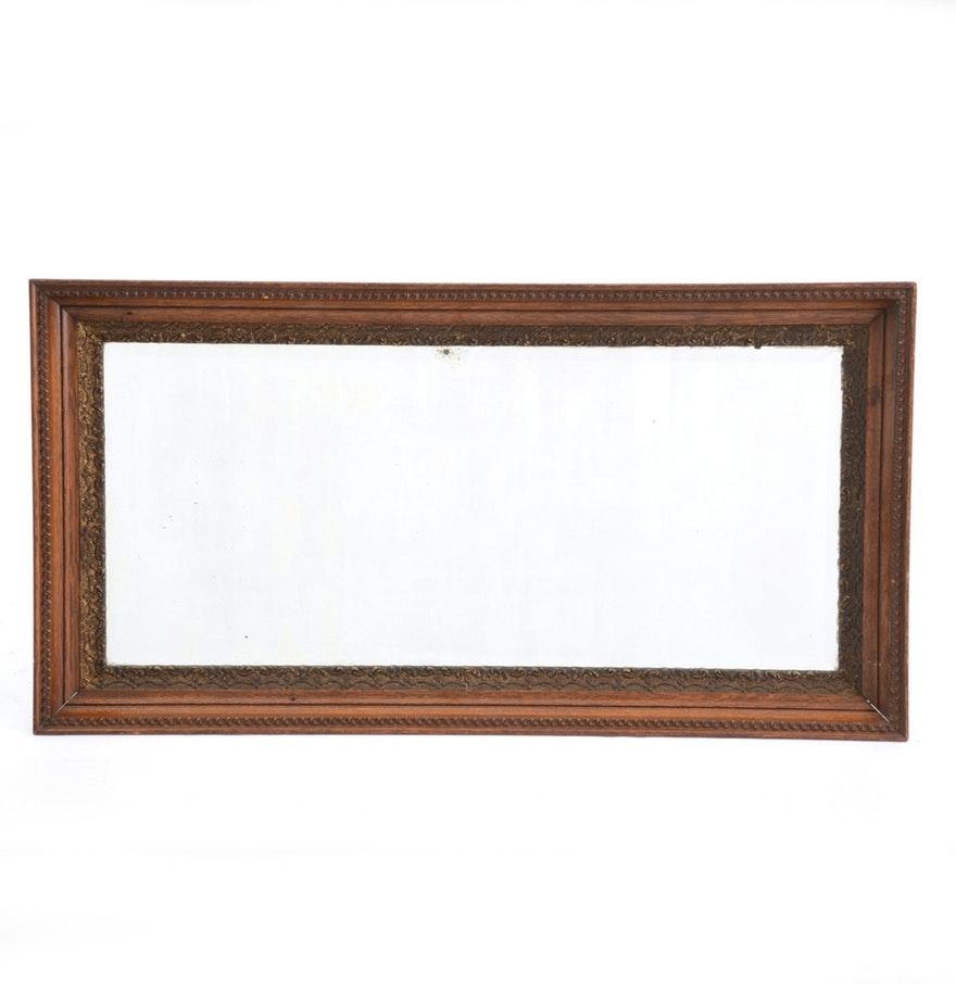 Oak Framed Wall Mirror 58 Cute Interior And H Framed Wall Mirror Within Oak Framed Wall Mirror (View 16 of 20)